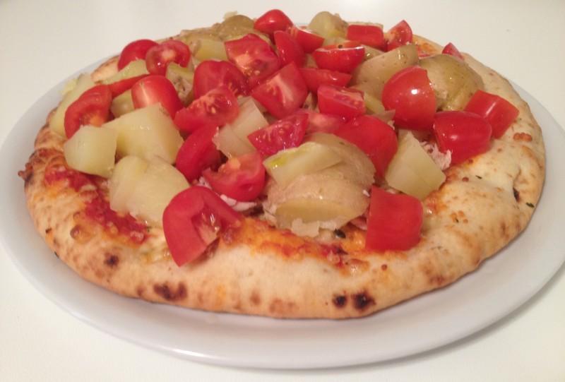 Pranzo con pizza consigliato per allemento dal Personal Trainer Bologna Stefano Mosca