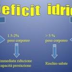 Personal Trainer Bologna Stefano Mosca il deficit idrico è pericoloso per chi pratica attività sportiva