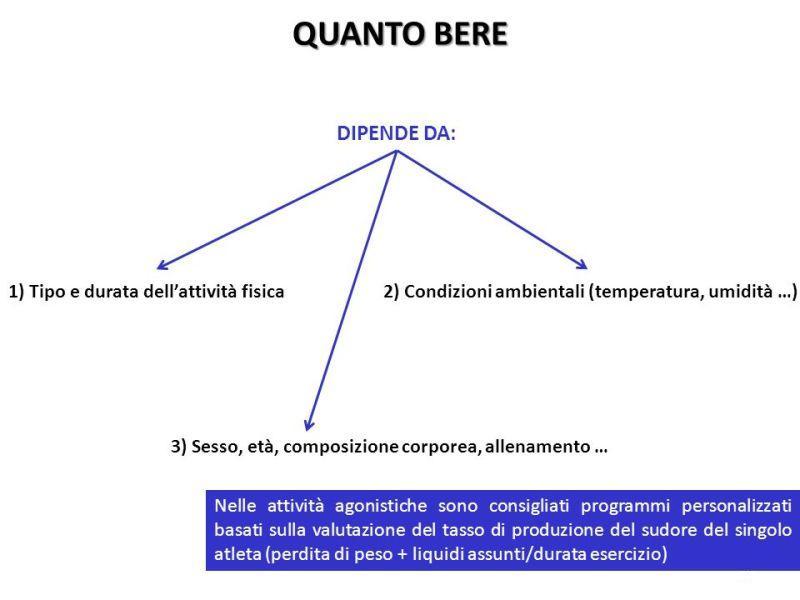 Umidità e idratazione - Personal Trainer Bologna