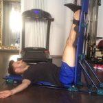 Pancafit per lo stretching delle gambe dello sportivo - Personal Trainer Bologna