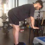 Esercizio di equilibrio della postura per sportivo - Personal Trainer Bologna