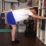 Esercizio di allungamento muscolare - Personal Trainer Bologna